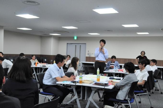 学校の先生と企業人が集まり、教育を考えるワークショップ「第2回CAミーティング」を開催しました。