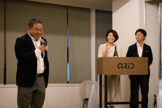代表取締役社長 宮地勘司よりwelcomeスピーチ