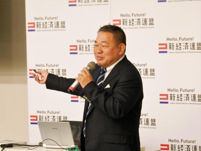 新経済連盟主催「最先端ビジネスセミナー in 国会」に、代表取締役社長・宮地勘司が登壇いたしました